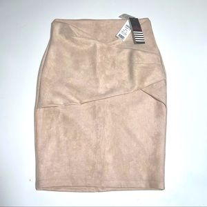 Ally Suede Skirt
